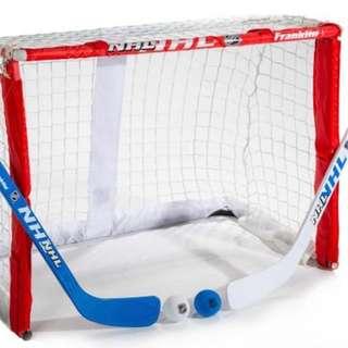 Franklin Field Goals and hockey set