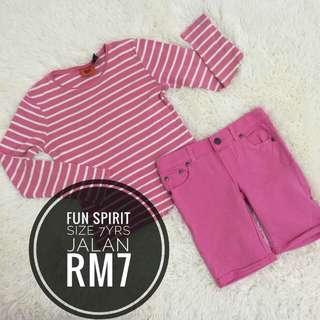 Set Girl 7yrs RM7