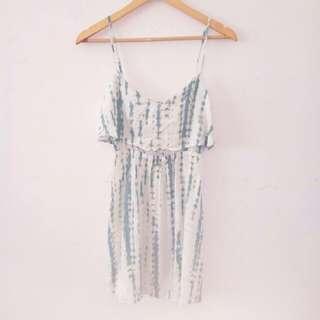Flowy Summer Ruffle Tie Dye Dress