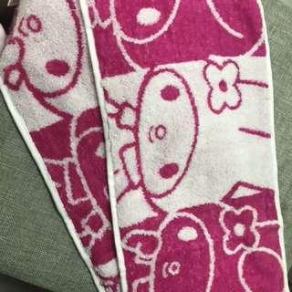 🈹🈹🈹My melody 長毛巾