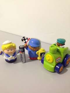 Little Tikes Figurine n Car
