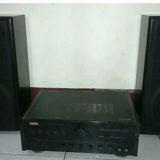 Amplifier 730 w two speaker