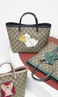 Gucci Pelican kids tote bag.