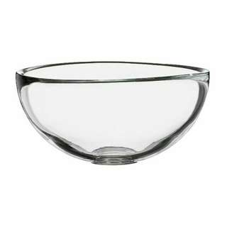 IKEA Serving bowl,clear glass,12 cm