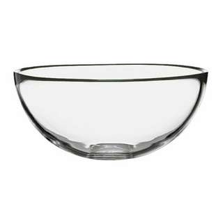 IKEA Serving bowl,clear glass,20 cm