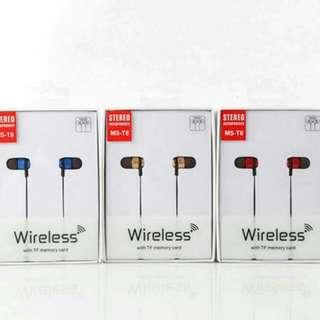 T8重低音磁吸式藍芽耳機