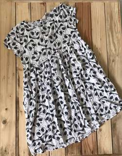 H&M panda print dress