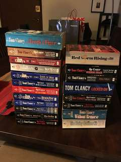 Books by Tom Clancy (20 books)