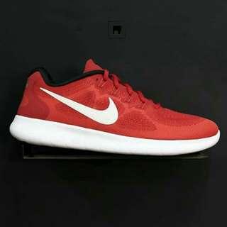 Sepatu Nike Free Run 2017 Red Original Bnib