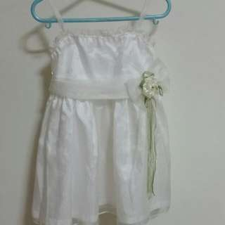 Baby Girl White Party Dress