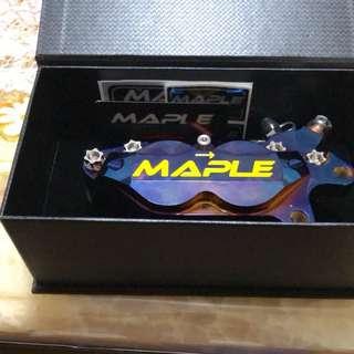 Maple cnc全切削鍍鈦卡鉗