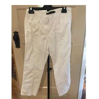 David Lawrence White Pants Size 8