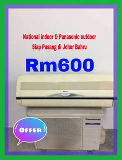 2nd hand air conditioner  1 hp Siap Pasang