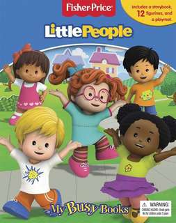 BN Fisher Price Little People - My Busy Book