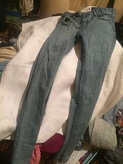 One teaspoon brand new skinny leg jeans