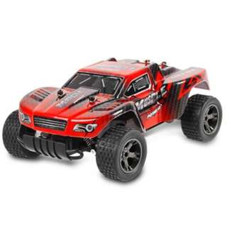 JULE UJ99 - 2812B 2.4GHZ 1:18 RC CAR RTR 20KM/H / SHOCK ABSORBER / IMPACT-RESISTANT PVC SHELL (RED)