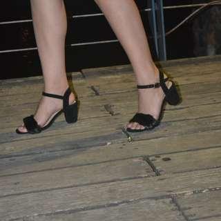 Chunky Fur Heels