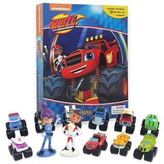 Blaze and the monster trucks - My Busy Book