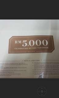 Ecoworld buyer RM5000 rebate voucher