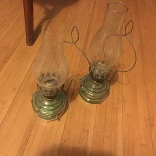 Vintage Oil Lamps 2