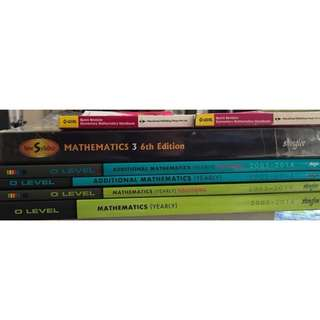 Maths / Human - Used Secondary Text & Assessment Books (From S$2 Upwards)