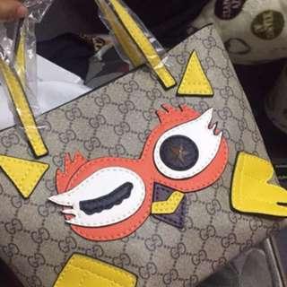 G牌風格兒童迷你卡通動物圖案手提包/G牌迷你手提包
