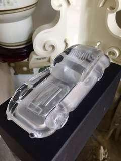 Vintage Glass Car