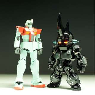 gk8u8o SD Egg Attack New Robot King Unpainted Resin Kit