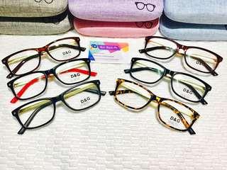 D & G Eyeglasses Replaceable Lens COD