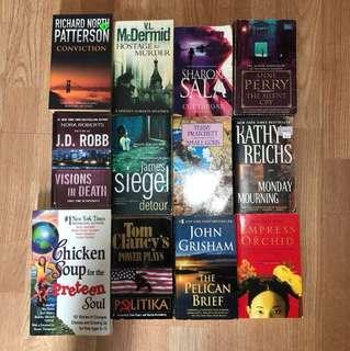 Cheap fiction books for sale