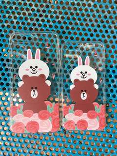 iPhone Case 手機殼 Brown & Cony Line Friends 熊大 兔兔
