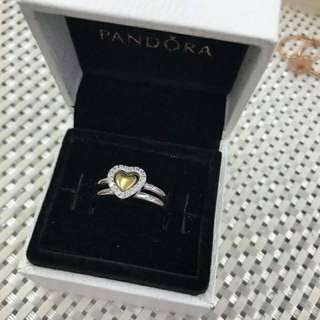 Pandora 2in1 Heart Rings ❤