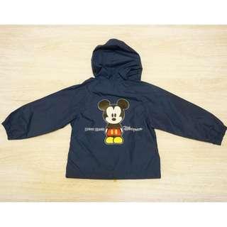 二手童裝/ 香港迪士尼米奇防雨風衣