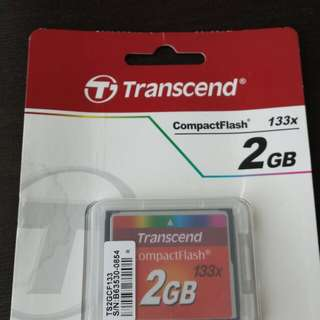 2GB CompactFlash Card