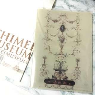 奇美博物館購入小型資料夾