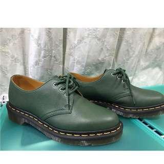 🚚 Dr.martens 馬丁鞋 3孔 綠色