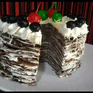 Mille crepes brithday