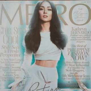 Kathryn Bernardo-Metro Magazine (June2013)