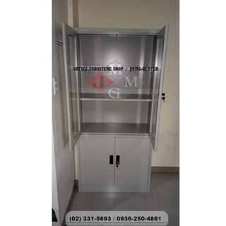 -Steel Filing Cabinet*With Glass Door*Office Partition