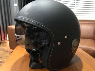 哈雷原廠半罩半罩式安全帽 M號