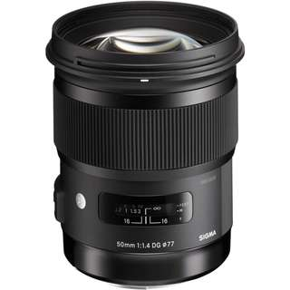 Sigma 50mm f/1.4 DG HSM Art Lens for Canon and Nikon