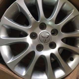三菱原廠16吋鋁圈*4顆