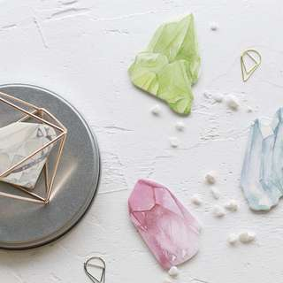 [PO] Crystal & diamond sticky note