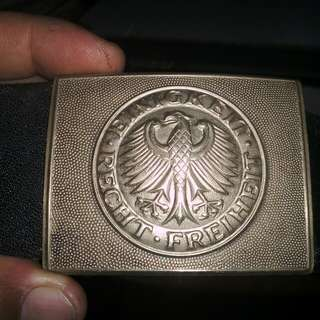 Original German Belt Buckle