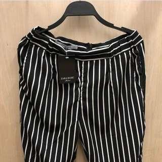 Zara stipe pants