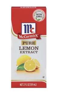 美國代購 McCormick 味好美 檸檬精 (29ml)