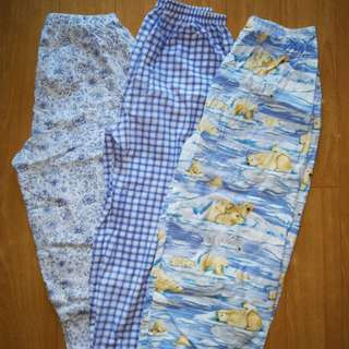 Preloved Pajama set take all! Set 3