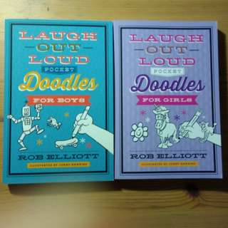 BN Children's Activity Book - Laugh Out Loud Pocket Doodles for Boys / Girls