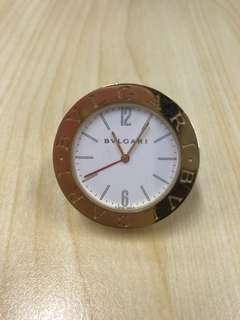 Bulgari Small Travel Pocket Alarm Watch