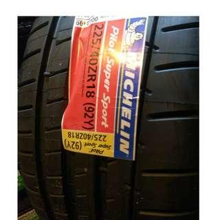 225/40/18 米其林 頂級胎王 PSS 3月新品到貨 限量八條特價 出完為止
